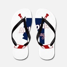 Arizona Hockey Flip Flops