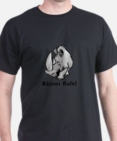 Rhinos Rule! T-Shirt