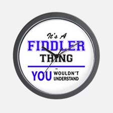 It's FIDDLER thing, you wouldn't unders Wall Clock