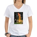 Midsummer / G Dane Women's V-Neck T-Shirt