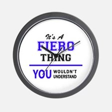 It's FIERO thing, you wouldn't understa Wall Clock