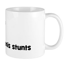 Mens Tennis stunts Mug