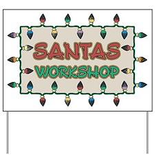 Santas Workshop Yard Sign