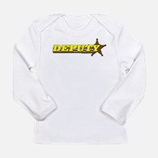 DEPUTY ~ YELLOW-BROWN Long Sleeve T-Shirt