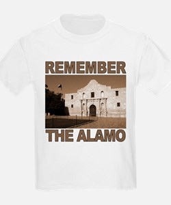 Remember the Alamo<br>Ash Grey T-Shirt