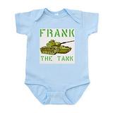 Frank the tank Bodysuits