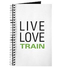 Live Love Train Journal