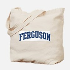 FERGUSON design (blue) Tote Bag