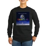 Save the Pit Bull Long Sleeve Dark T-Shirt