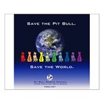 Save the Pit Bull Small Poster