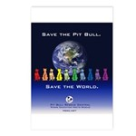 Save the Pit Bull Postcards (Package of 8)