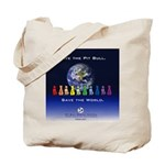 Save the Pit Bull Tote Bag