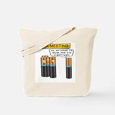 Cute Battery Tote Bag