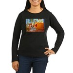 Room / Brittany Women's Long Sleeve Dark T-Shirt