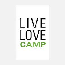 Live Love Camp Decal