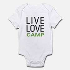 Live Love Camp Infant Bodysuit