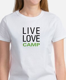 Live Love Camp Women's T-Shirt