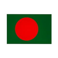 Bangladesh Rectangle Magnet (10 pack)