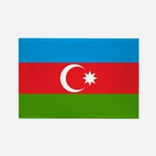 Azerbaijan Rectangle Magnet
