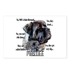 Mastiff(fluffy)FAQ Postcards (Package of 8)