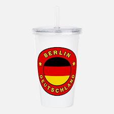 Berlin Deutschland Acrylic Double-wall Tumbler