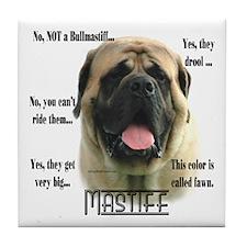Mastiff(fawn)FAQ Tile Coaster