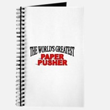 """""""The World's Greatest Paper Pusher"""" Journal"""