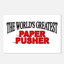 """The World's Greatest Paper Pusher"" Postcards (Pac"