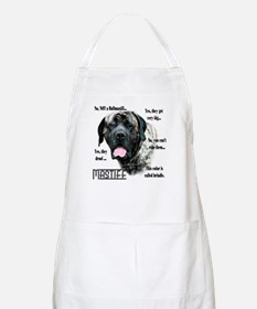 Mastiff(brindle)FAQ BBQ Apron