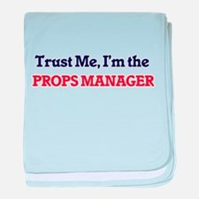 Trust me, I'm the Props Manager baby blanket
