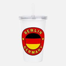 Berlin Germany Acrylic Double-wall Tumbler