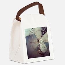 Cute Fan Canvas Lunch Bag