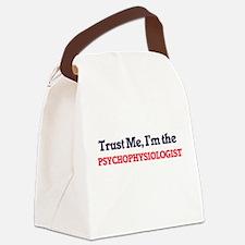 Trust me, I'm the Psychophysiolog Canvas Lunch Bag