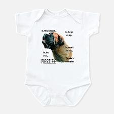 Mastiff(apricot)FAQ Infant Bodysuit