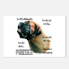 Mastiff(apricot)FAQ Postcards (Package of 8)