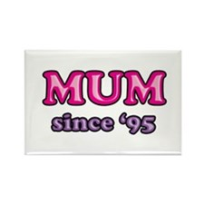 Mum Since 1995 Mother's Day Rectangle Magnet