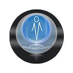 """artist michaelm 3.5"""" Button (100 pack)"""