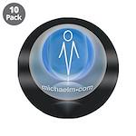 """artist michaelm 3.5"""" Button (10 pack)"""