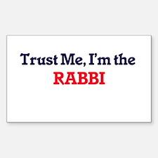Trust me, I'm the Rabbi Decal