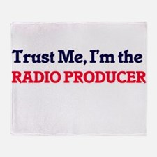 Trust me, I'm the Radio Producer Throw Blanket