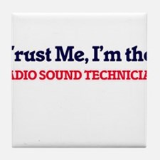 Trust me, I'm the Radio Sound Technic Tile Coaster