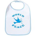 World Peace, Peace and Love. Bib