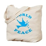 World Peace, Peace and Love. Tote Bag