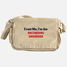 Trust me, I'm the Recording Engineer Messenger Bag