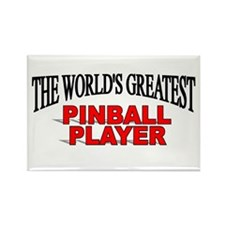 """The World's Greatest Pinball Player"" Rectangle Ma"