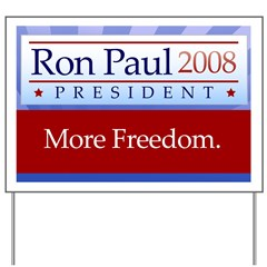 Ron Paul Premium Yard Sign