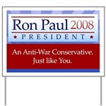 Ron Paul Premium Yard Sign