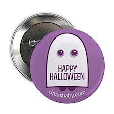 "Happy Halloween Ghost 2.25"" Button"