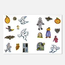 Halloween 37 Postcards (Package of 8)