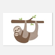 Sloths In Tree Postcards (Package of 8)
